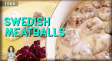 Food History!| Swedish Meatballs (That aren't really Swedish😲 ) from 1966! by Main yesterkitchen channel