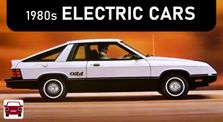 Before Tesla... 1980s Electric Cars (EVs Part 2) by Main bigcar channel